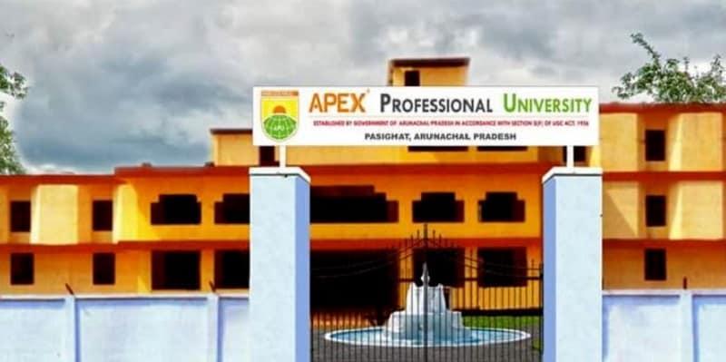 APEX PROFESSIONAL UNIVERSITY PASIGHAT