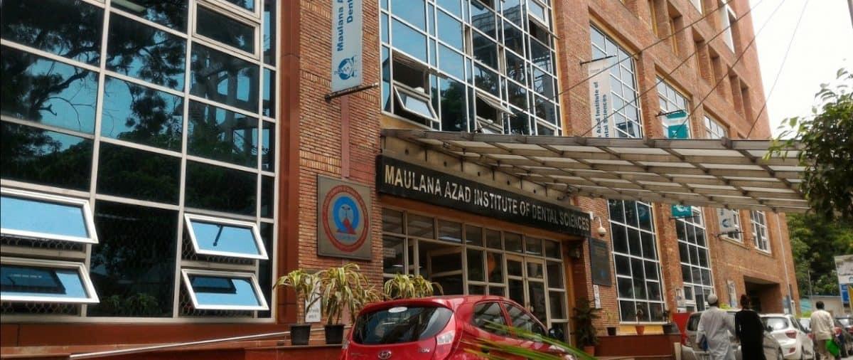 MAULANA AZAD INSTITUTE OF DENTAL SCIENCES – (MAIDS), NEW DELHI