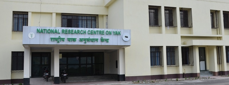 NATIONAL RESEARCH CENTRE ON YAK – (NRCY), WEST KAMENG