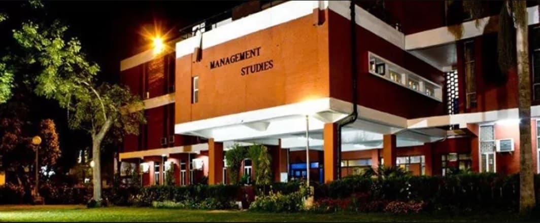 UNIVERSITY OF DELHI, FACULTY OF MANAGEMENT STUDIES – (FMS), NEW DELHI