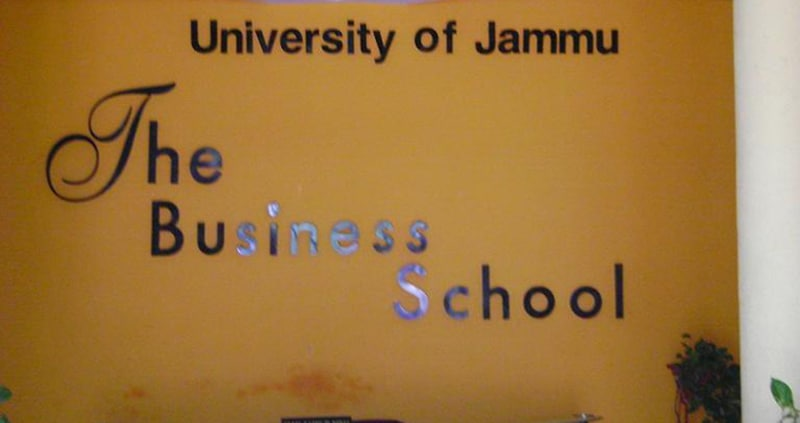 The Business School University Of Jammu – (TBS), Jammu